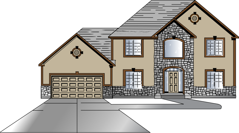 house side view clipart - photo #14