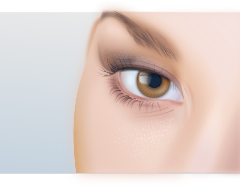 Woman's eye detailed by frankart