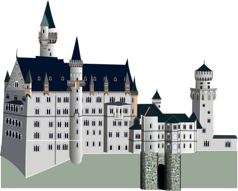 medieval castle by gurica - Medieval palace