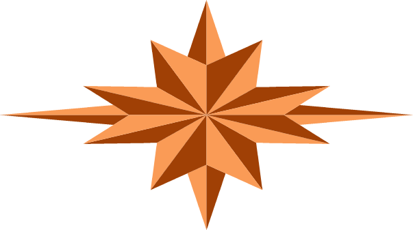 A star logo by lakeside - A logo designed as star.