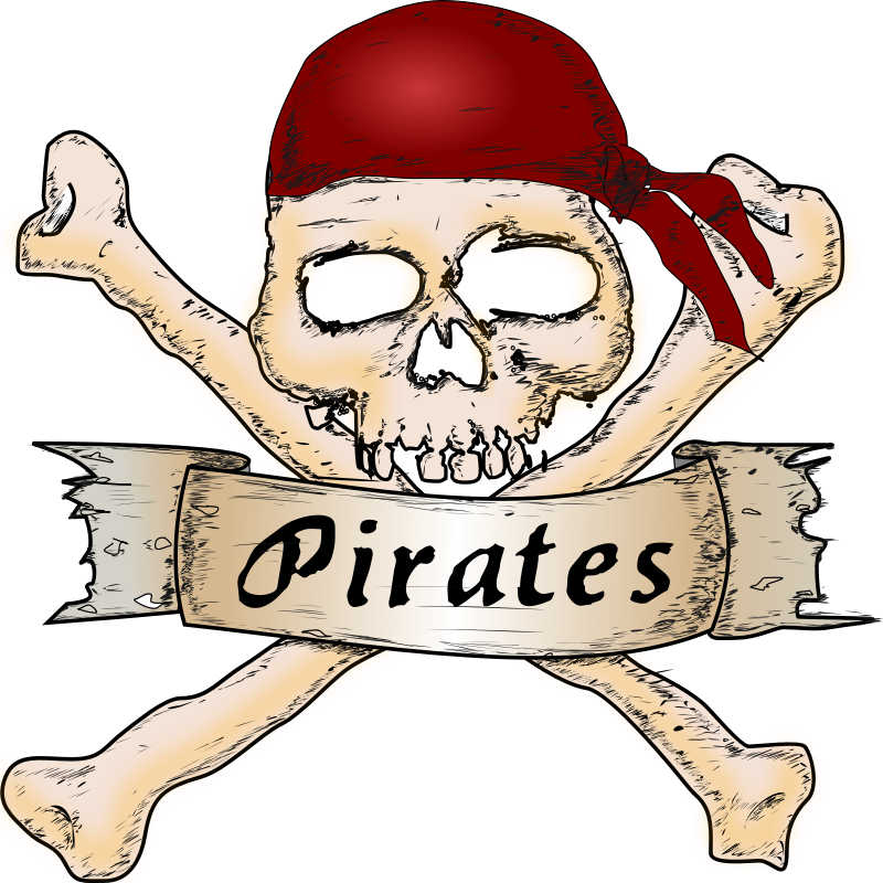 pirates by molumen - Arrrr, pirates are everywhere sign