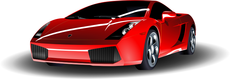 red sports car by ryanlerch - A red sports car