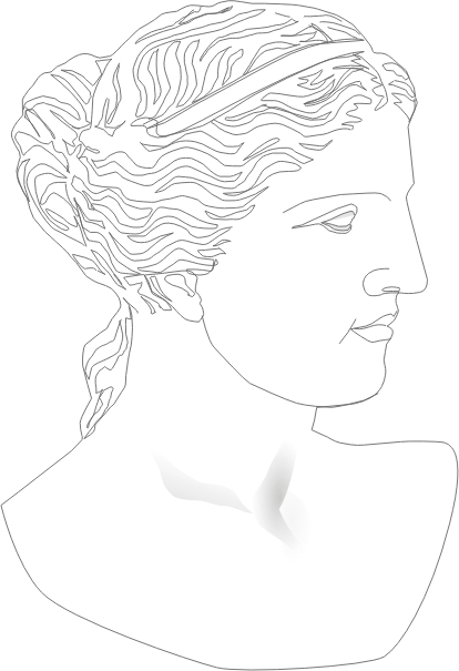 Classical Woman Outline by tomas_arad - An outline of a classical woman.
