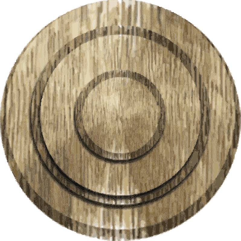 Bullseye Coaster by tsveti_ts - A coaser for a drink with a bullseye