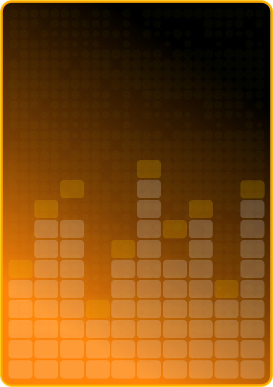 Colored Graph Pixels by usiiik - Colored graph pixels like a music display.