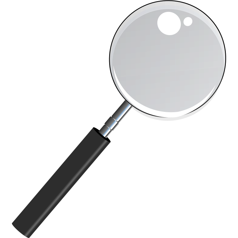 Magnifying Glass with Transparent Glass by levis501 - Magnifying Glass with Transparent Glass