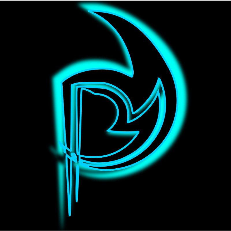 Neon P by lpr577 - letter P with a neon glow. Created by bala swecha ...