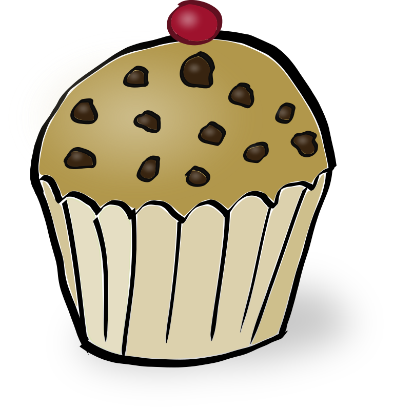 Chocolate Chips Muffin by rubejar