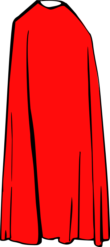 Clipart - Cape - Cloak