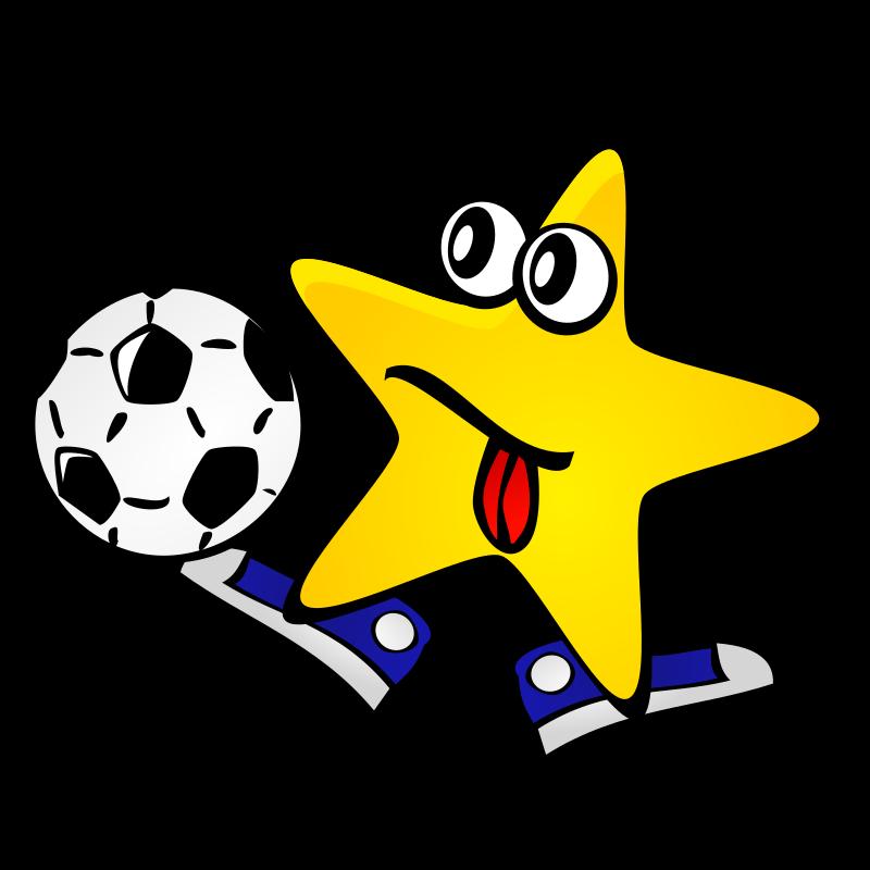 Clipart - Starry night: Star