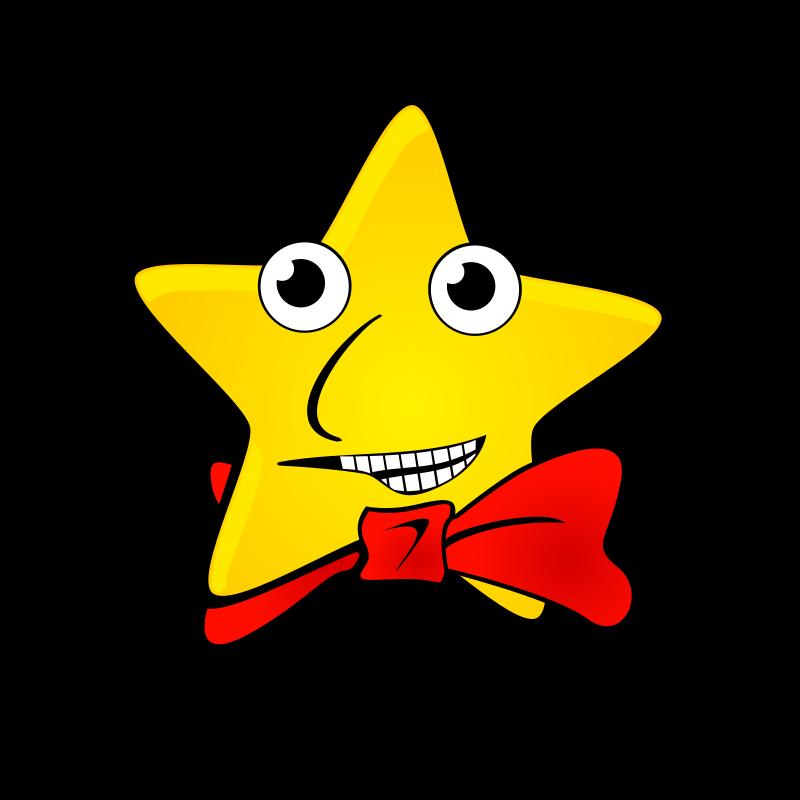 happy star clip art - photo #22