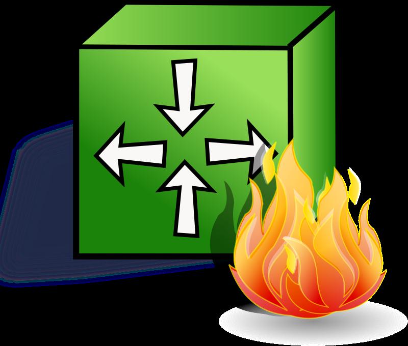 Firewall graphic