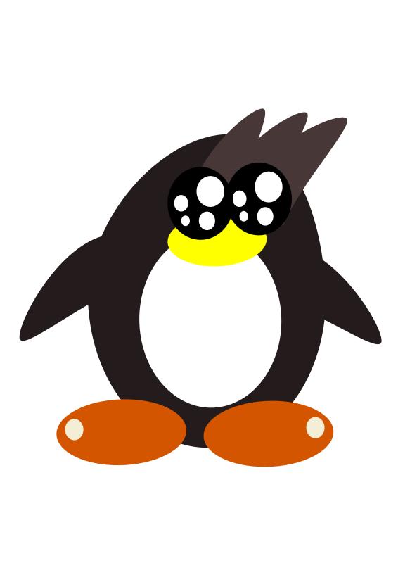penguin remasterd h.d  by PeterBrough