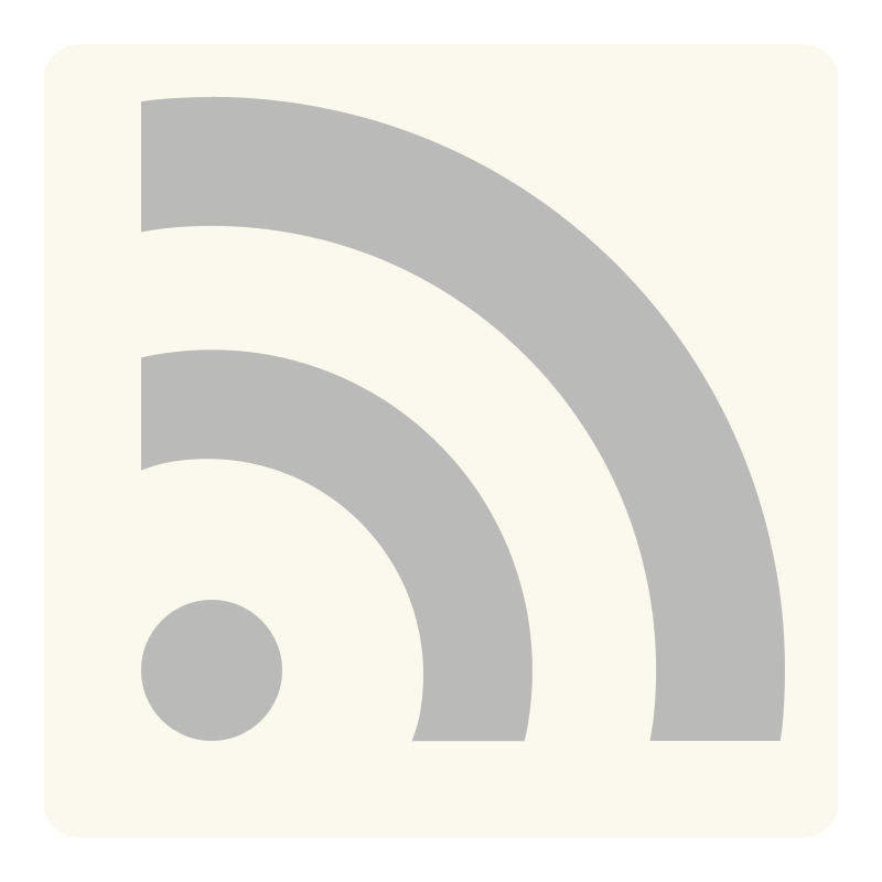 Simple RSS by dimaursu - A minimalistic RSS feed icon for my website.
