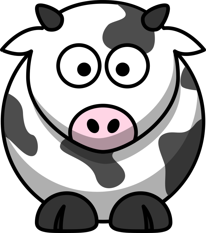 Cartoon cow by lemmling - moo