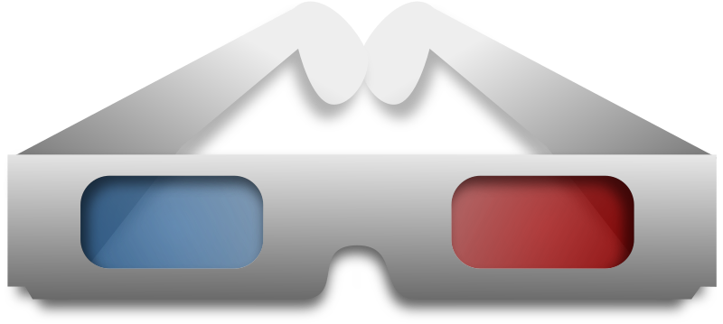 3d Glasses by Merlin2525