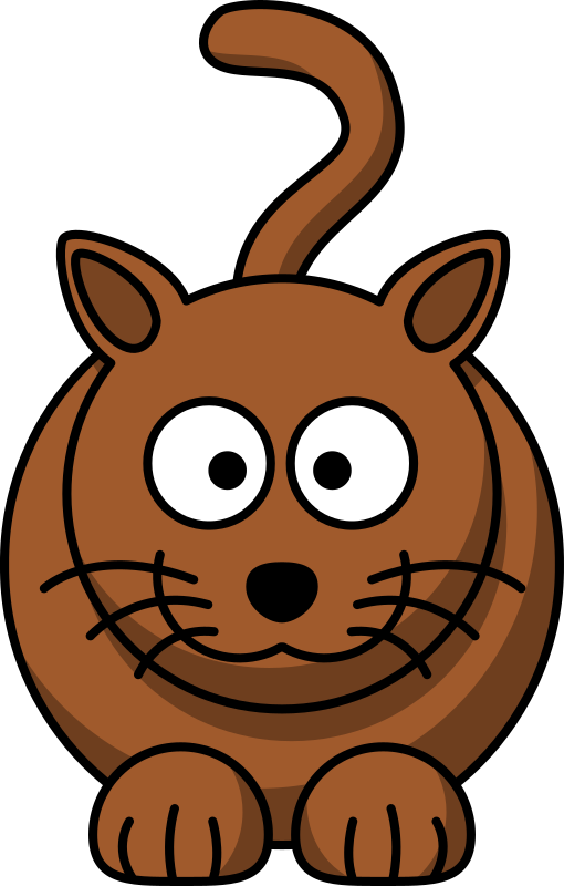 Cartoon cat by lemmling -