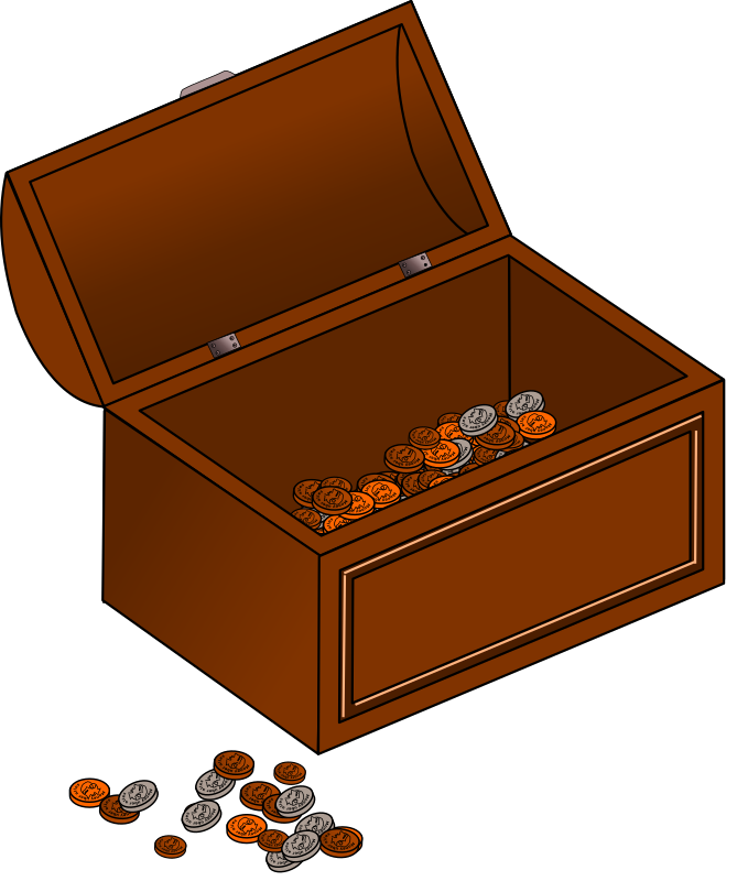 Treasure chest by Eypros - A pirate treasure chest