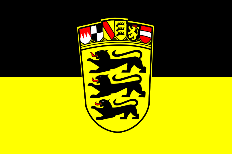 Flag of Baden-Württemberg by tobias -