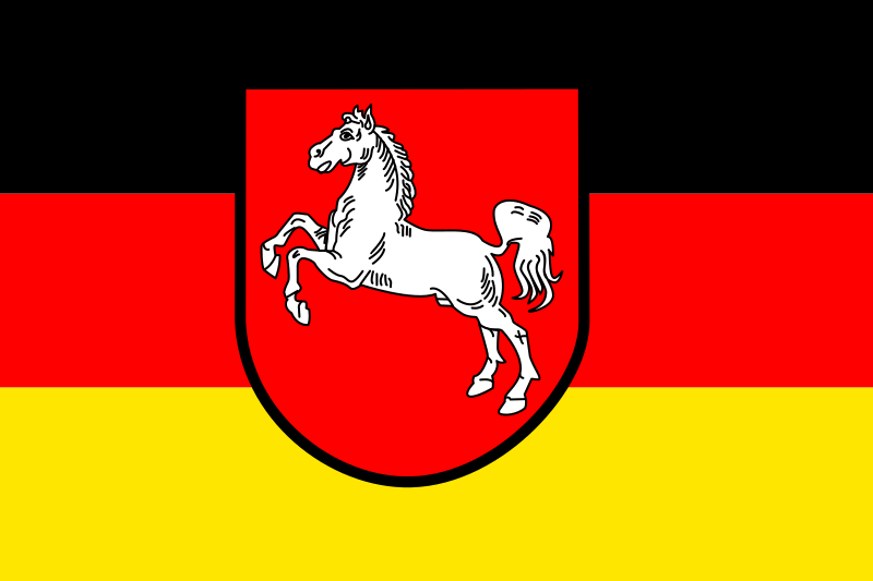 Flag of Lower Saxony by tobias