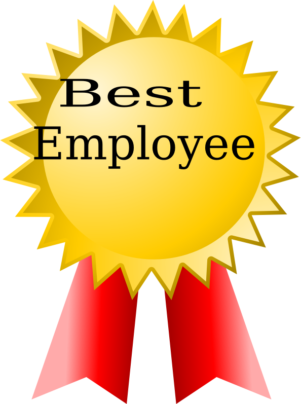 best employee by marlinsons - award, best, employee