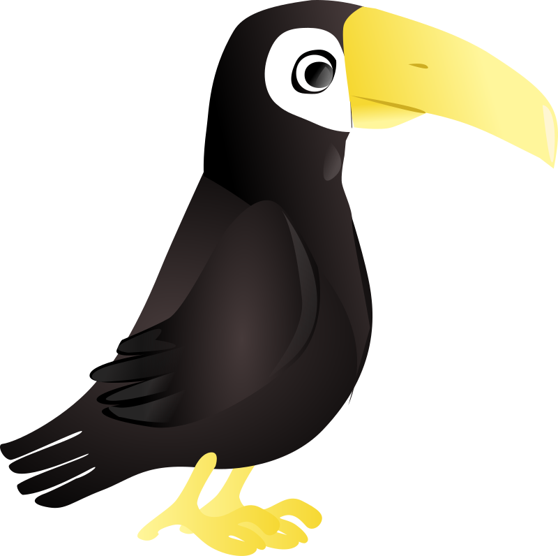 Simple Toucan by sissone - This is a simple toucan.