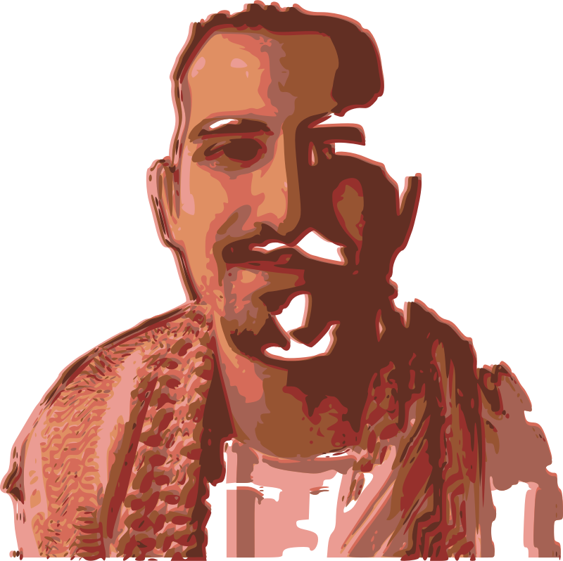 FREEBASSEL Colour by rejon - A vectorized image of our boy, FREEBASSEL!