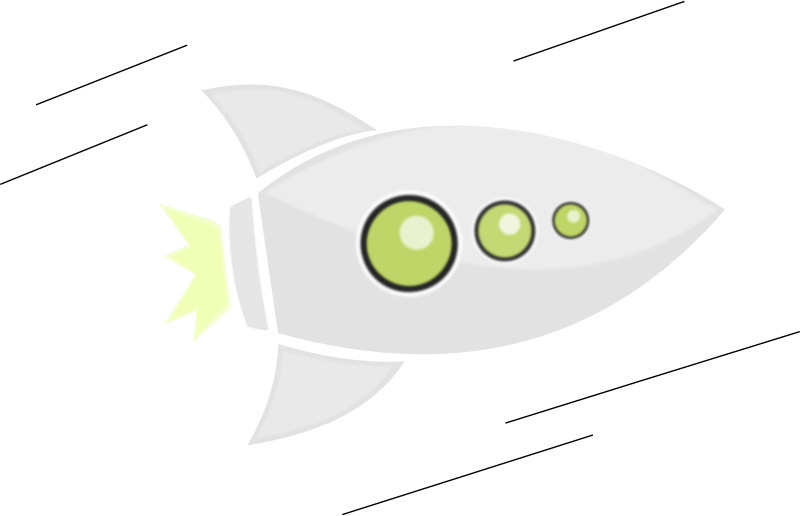 Rocket Fly by mkhuda - This is flying rocket. Made by inkscape