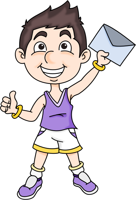 Mail Boy by knollbaco - Athletic child receiving an email