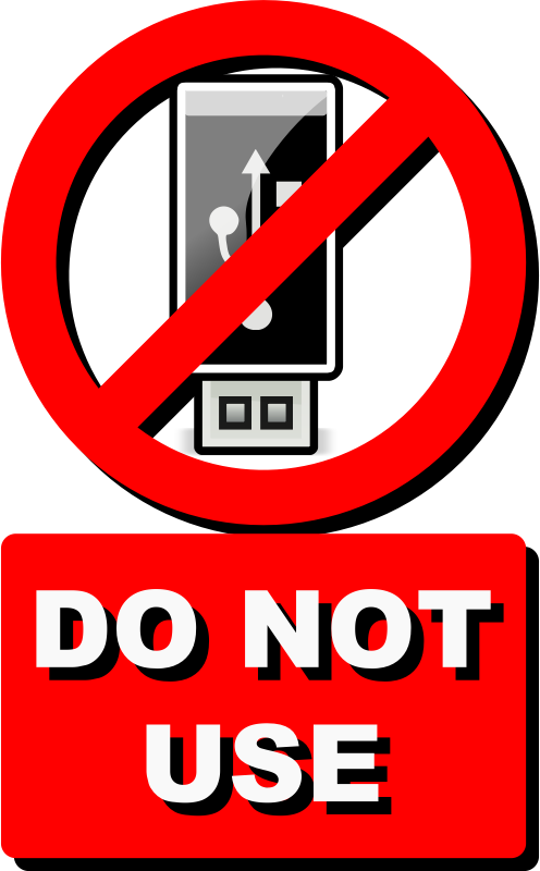 No USB version two by lordoftheloch - Some organizations prohibit the use of USB devices