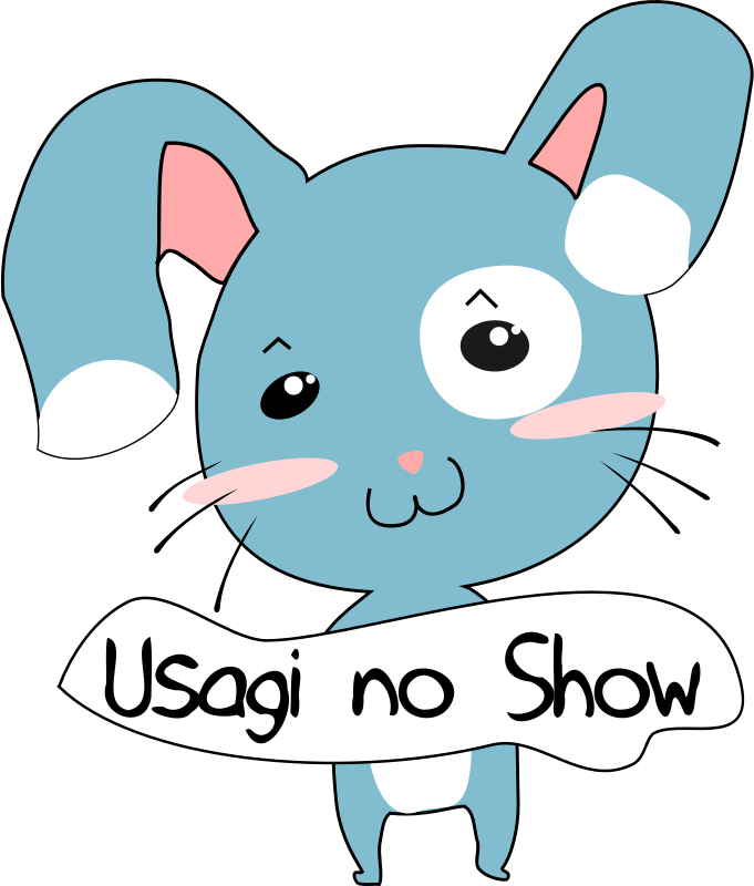 Usagi No Show by stilg4r - A rabbit holding a sign.