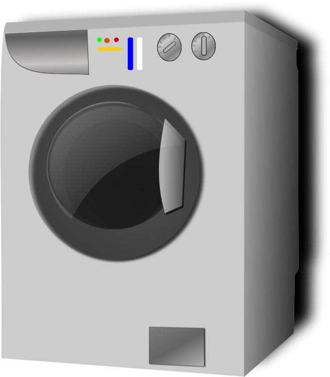 washing machine by hatalar205 - A simple washing machine clipart.
