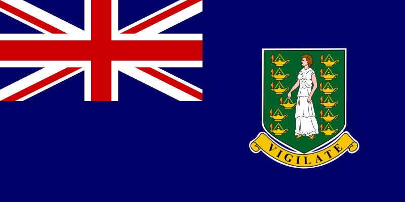 Flag of British Virgin Islands by tobias - Flag of British Virgin Islands.
