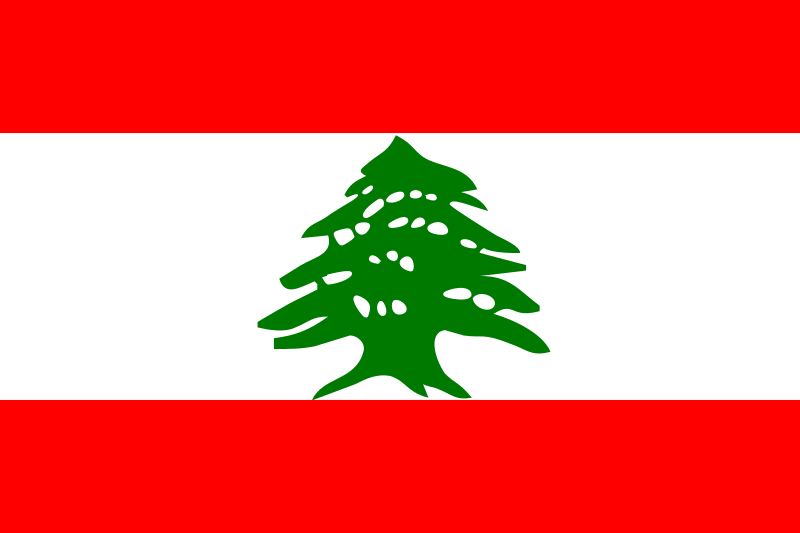Flag of Lebanon by tobias