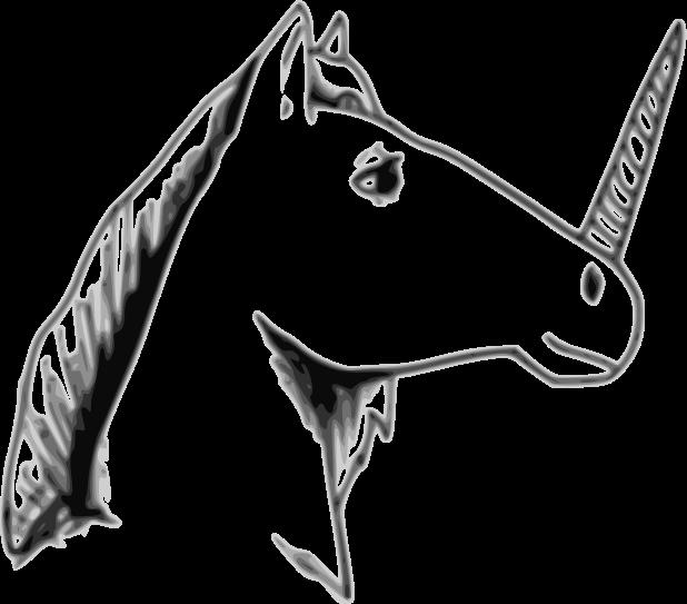 Clipart - Unicorn
