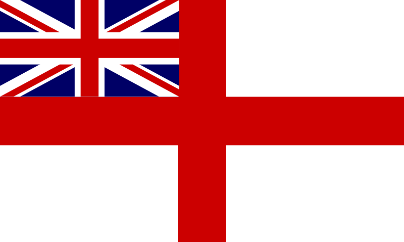 Historic Flag of the English Royal Navy by tobias