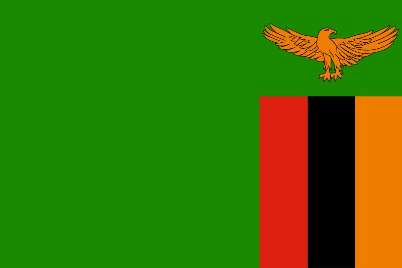 Flag of Zambia by tobias