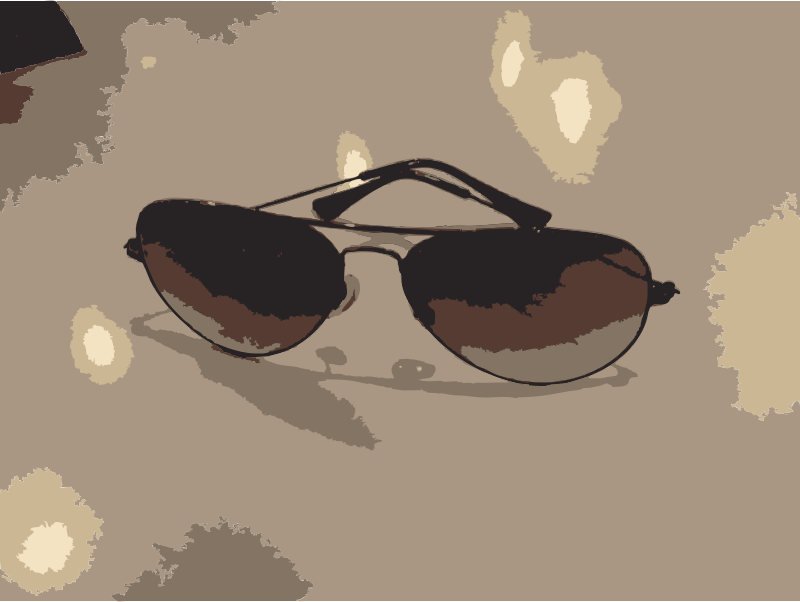 Sunglasses on table by rejon - #sunglasses #sun #cool #classic. Please help extract the glasses out of the image.