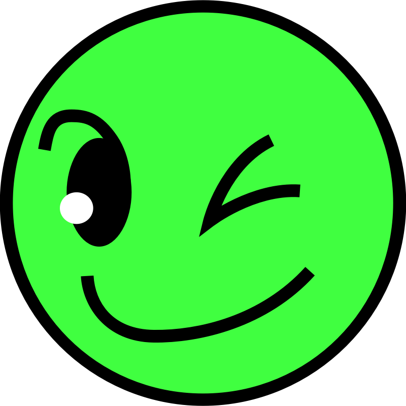 Smiling face by SumiTomohiko - A smiling fun face.  I am using this icon in fsyscall documentation (http://neko-daisuki.ddo.jp/~SumiTomohiko/fsyscall/index.html#supported-system-calls).