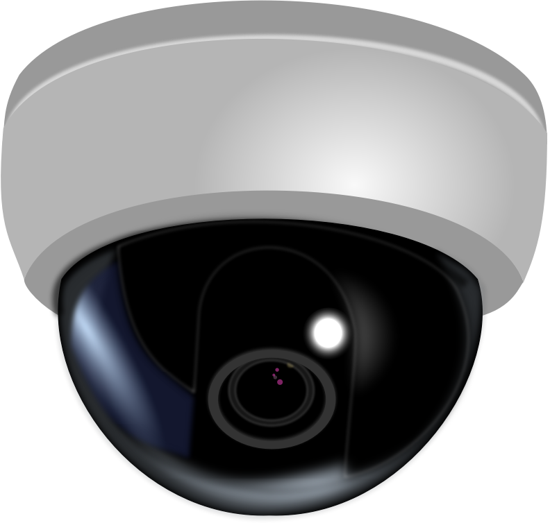 CCTV Dome Camera by mi_brami - CCTV Dome camera