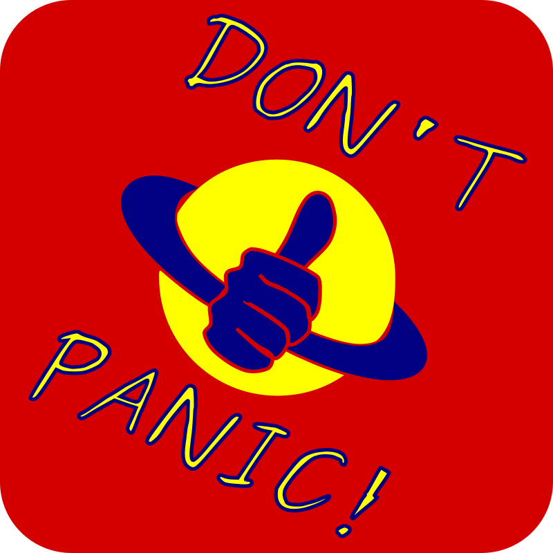 Don't Panic by sven222