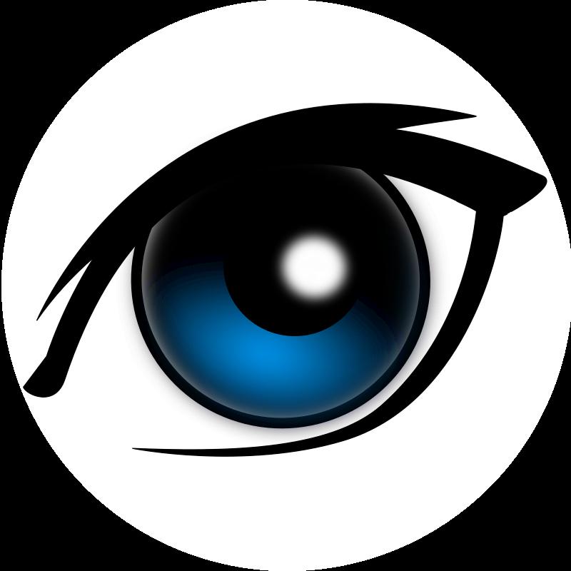 anime eyes clipart - photo #26