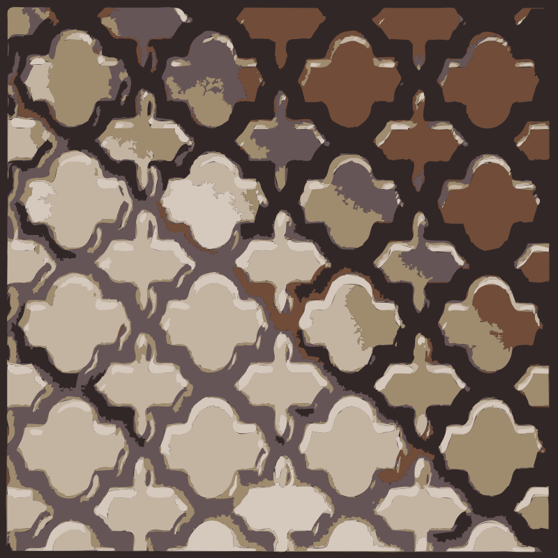 Lattice Pattern by rejon - A clip art of lattice work pattern and texture