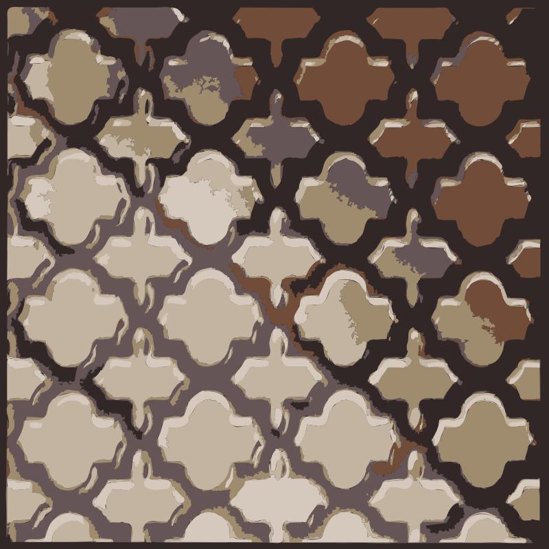 Clipart - Lattice Pattern