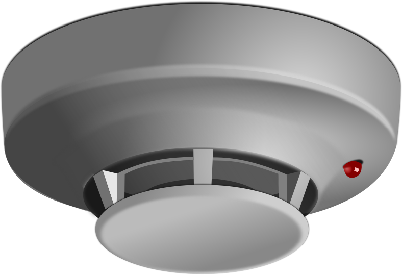 Smoke Detector by mi_brami - Ceiling mounted smoke detector