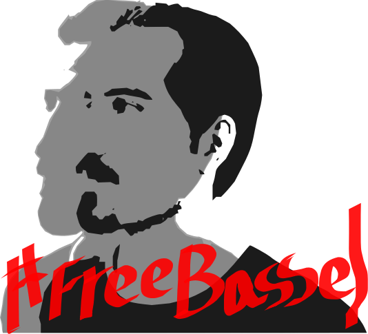 FreeBassel  by jykhui - Bassel need us, get him Free. #FREEBASSEL