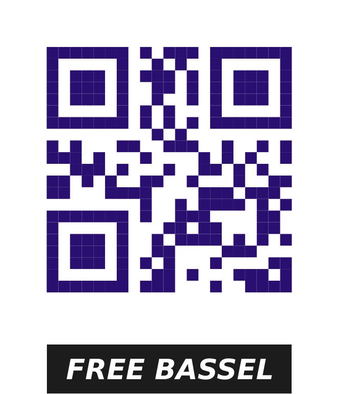 Freedom qr code by chatard - qr code to use on any type of media or clothing: posters, t-shirts etc ...