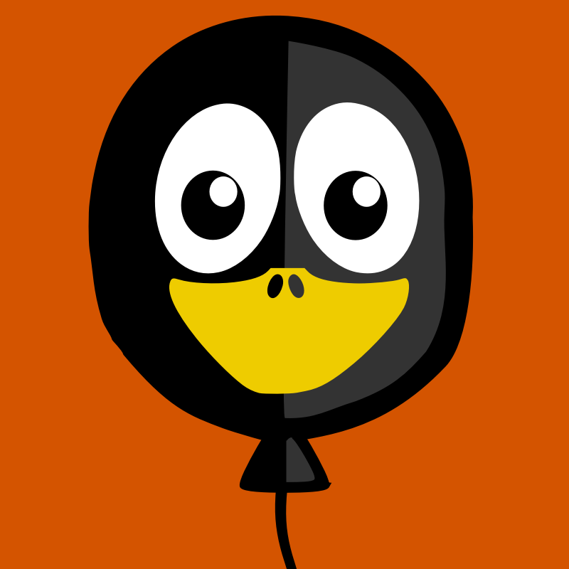 balloon penguin by BartM