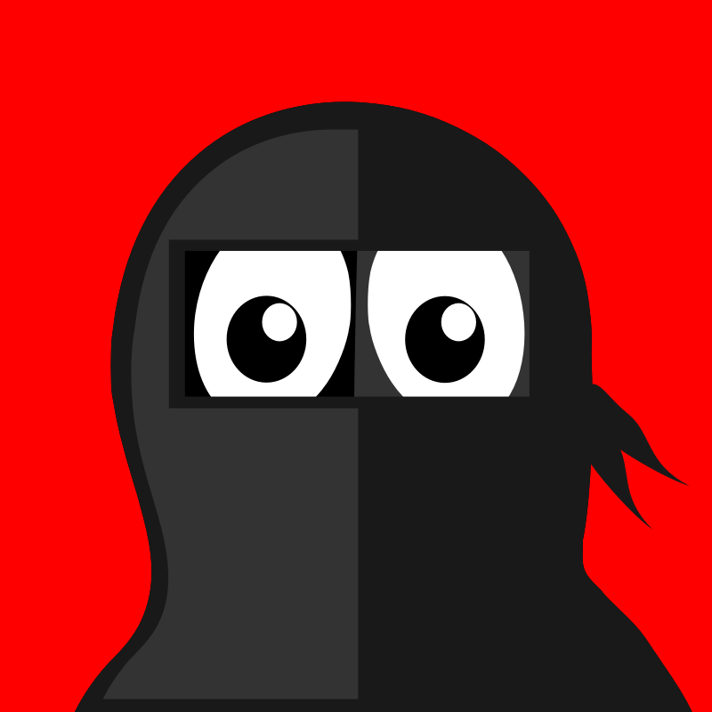 ninja penguin by BartM - A penguin in an outfit reminds us of tux from Linux fame.