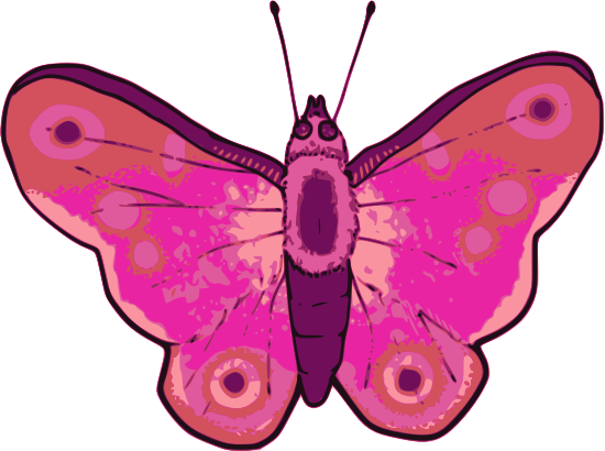 Butterfly by Child_of_Light - Butterfly created in GNU/Linux with Mypaint & Inkscape